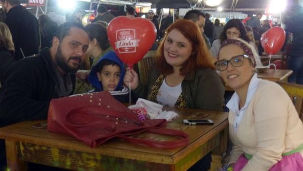 Famílias inteira aproveitaram a noite ao lado da RPC (Foto: Divulgação/RPC)