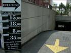Estacionar na Avenida Paulista custa de R$ 12 a R$ 75 o período