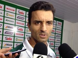 Treinador Júnior Rocha do Luverdense (Foto: João Morandi/TVCA)