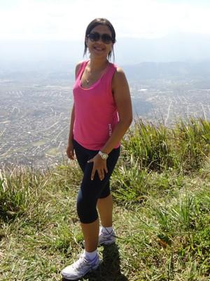 Vanessa emagreceu 52 kg em um ano (Foto: Arquivo pessoal)