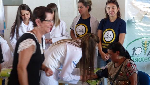 Muita gente aproveitou para cuidar da saúde (Foto: Divulgação/RPC)