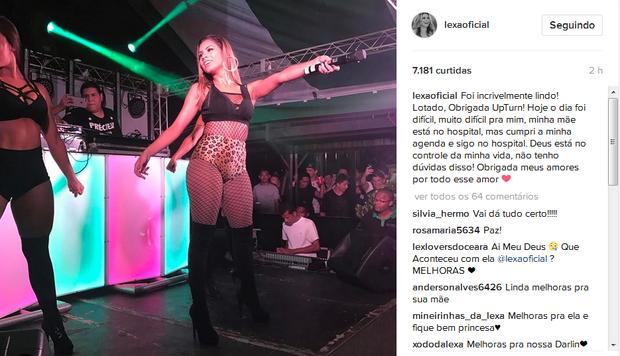 Post de Lexa (Foto: Reprodução/Instagram)