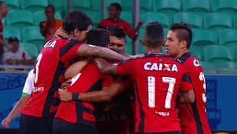 Os gols de Vitória 2 x 1 América-MG pela 22ª rodada do Brasileirão