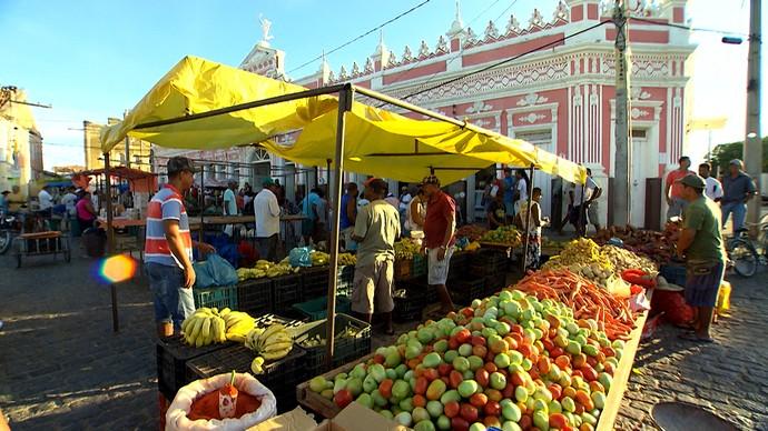 feiras livres de Barra (Foto: Divulgação)