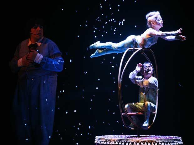 G1 cirque du soleil estende temporada em bras lia at 8 for Espectaculo circo de soleil
