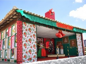 Casa do Papai Noel Campos dos Goytacazes (Foto: Divulgação/Site Prefeitura de Campos)