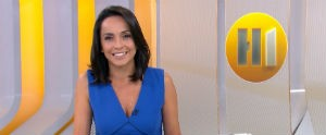 Telejornal mostra que piscinas da praia de Pajuçara recebe vários turistas para o verão (Reprodução/ TV Globo)