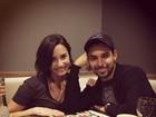 Demi Lovato comemora aniversário com o namorado