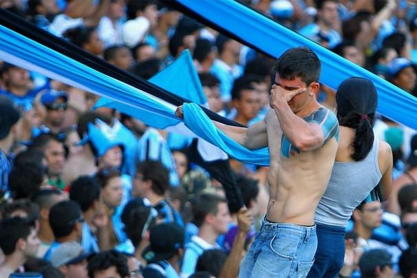 Torcedores do Grêmio voltam a se emocionar em 2013 a partir deste domingo (Foto: Lucas Uebel/Grêmio FBPA)