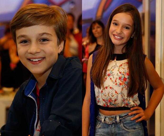 Vitor Figueiredo e Kiria Araujo interpretam Max e Marina (Foto: Ellen Soares/Gshow)