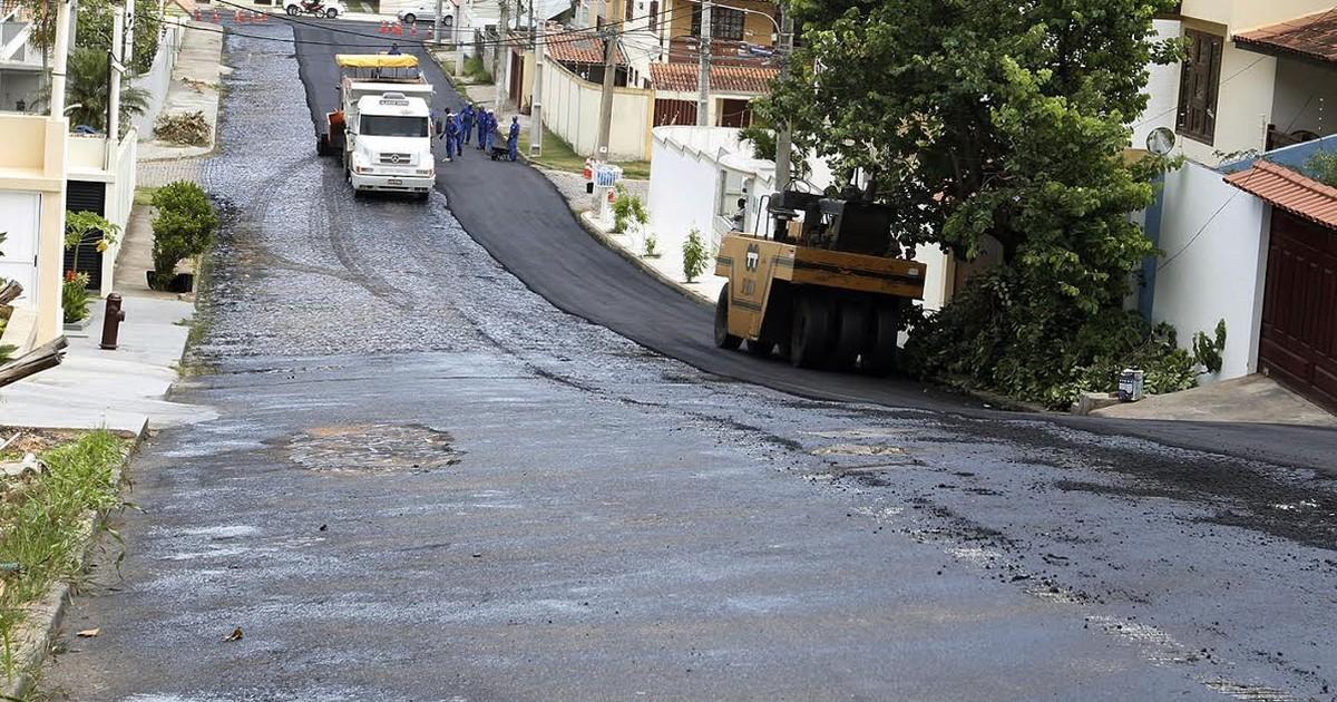 Prefeitura promete asfaltar 100 Km de vias durante 2015 em Macaé ... - Globo.com