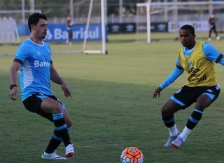 Giuliano, Grêmio, treino (Foto: Eduardo Deconto / GloboEsporte.com)