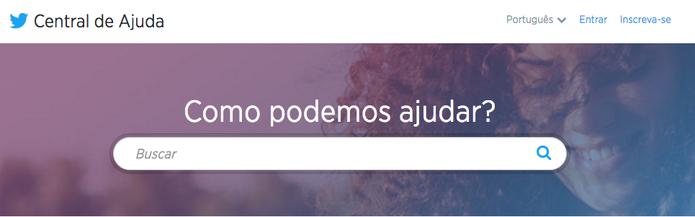 Twitter tem regras de uso no site (Foto: Reprodução/Camila Peres)