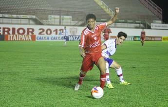Mogi e Bahia guardam futebol para o segundo tempo e ficam no empate