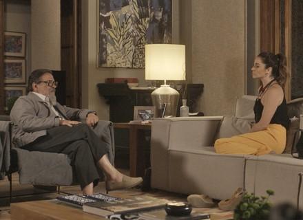 Tanaka diz para Alice que vai descobrir se explosão foi criminosa: 'Custe o que custar'