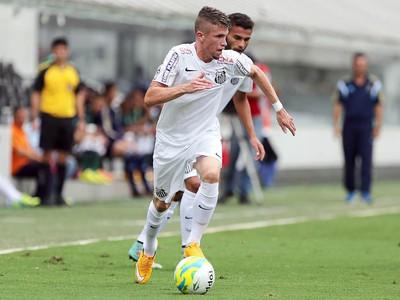 Caio Santos (Foto: Pedro Ernesto Guerra Azevedo / Santos FC)