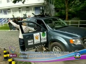 Acidente com Ana Maria Braga. (Foto: Reprodução/ TV Globo)
