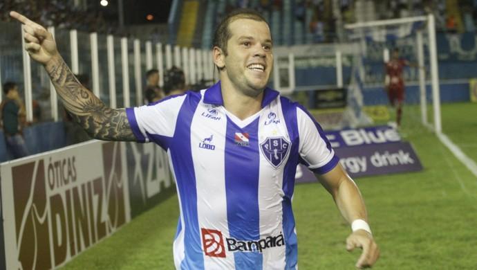 Tiago Luís tem oe melhor aproveitamento entre os jogadores ofensivos do Paysandu na Série B (Foto: Igor Mota/O Liberal)