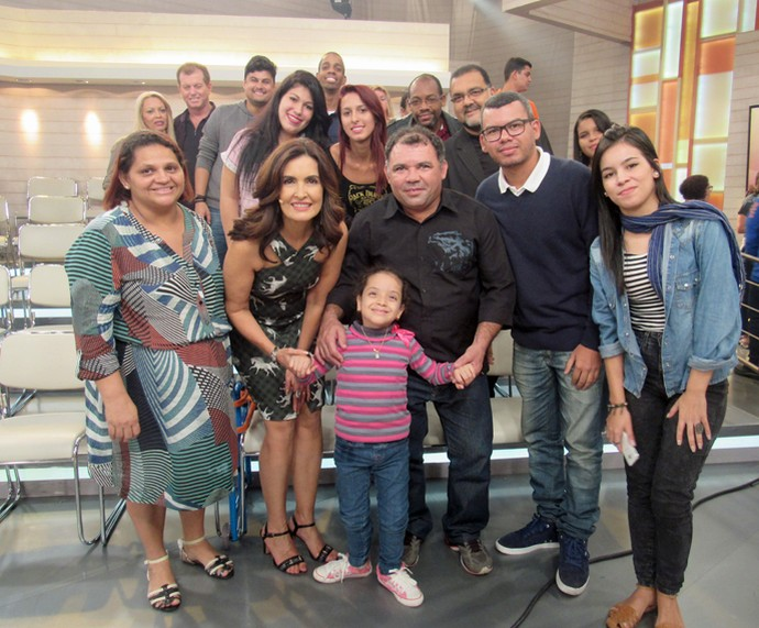 Parte da plateia que marcou presença no programa  (Foto: Priscilla Massena/Gshow)