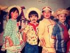 Kaká relembra a infância vestido de caipirinha em festa junina