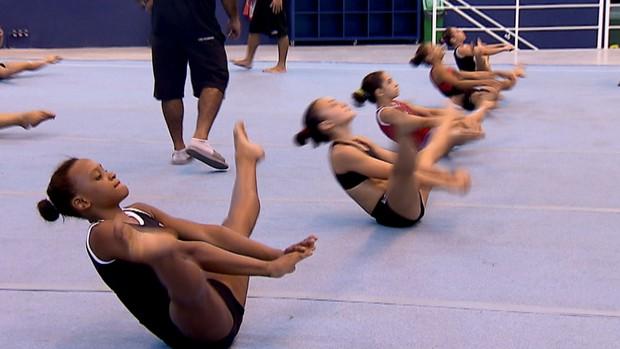 Rebeca Andrade, ginasta (Foto: Reprodução/SporTV)