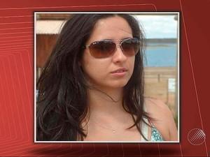 Noiva PM que morreu em acidente (Foto: Reprodução /TV Bahia)