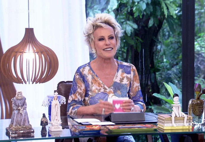 Ana Maria Braga - abril 2017 (Foto: TV Globo)