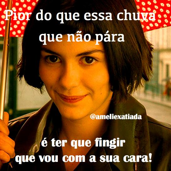 Brasileira Cria Conta De Amélie Poulain Em Versão Mal Humorada