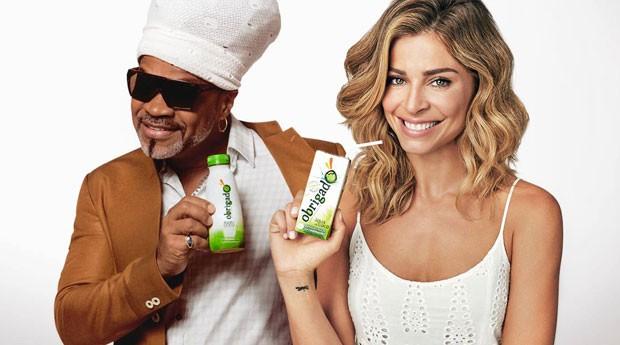 Água de coco Obrigado: apelo de famosos e leitura do rótulo (Foto: Divulgação)