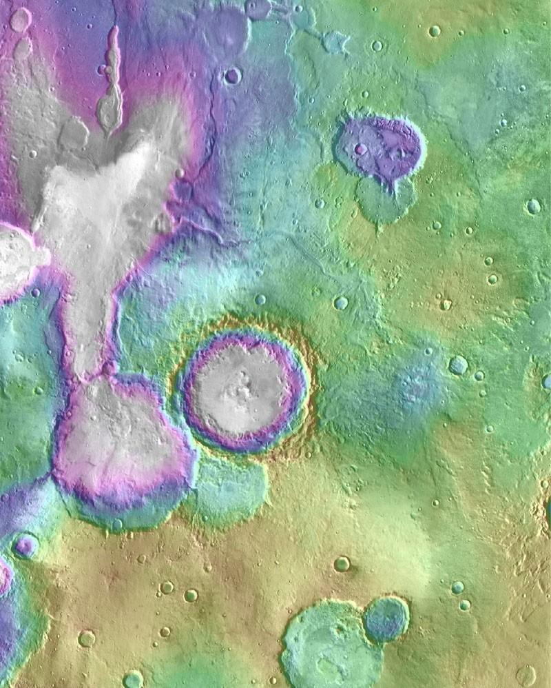 (Foto:  NASA/JPL-Caltech/ASU)