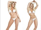 Karina Bacchi exibe corpo sarado e faz post motivacional