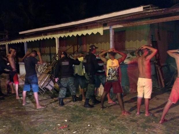 Operação 'Falcão Negro' iniciou na sexta-feira (21)  (Foto: Rickardo Marques/G1 AM)