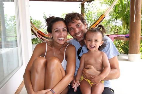 Marcelo Faria com a família (Foto: Arquivo pessoal)