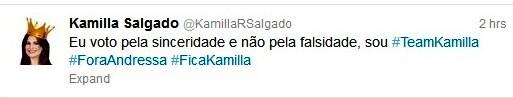 BBB Kamilla Salgado (Foto: Reprodução)