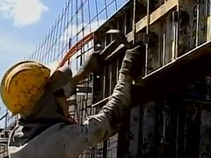 Acidentes de trabalho são mais frequentes na construção civil em Petrolina, PE (Foto: Reprodução / TV Grande Rio)