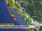 Após terremoto na costa oeste do Canadá, tsunami ameaça Havaí
