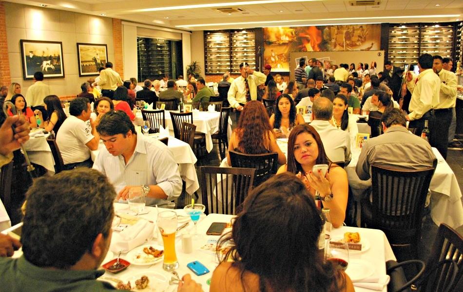 Jantar reuniu mais de 150 representantes de agências publicitárias de Manaus (Foto: Katiúscia Monteiro/ Rede Amazônica)