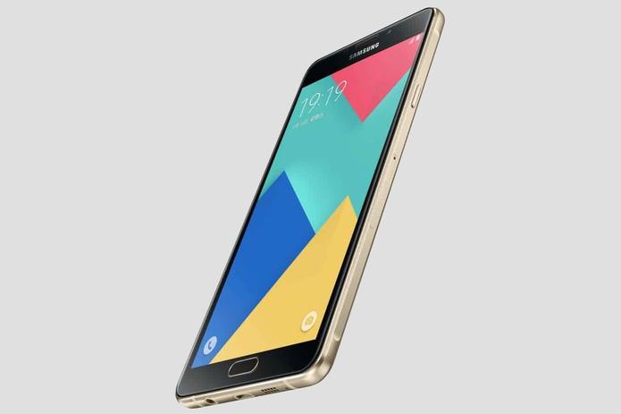 Galaxy A9 tem tela Super Amoled de seis polegadas e resolução Full HD (Foto: Divulgação/Samsung)