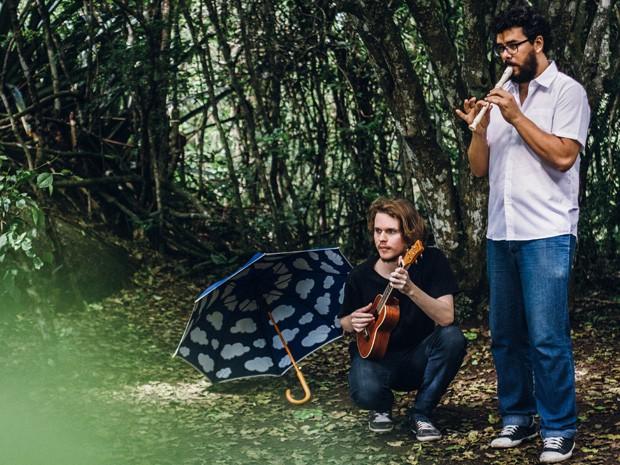 Pré-lançamento do disco 'Nó' da bandavoou acontece no domingo (16) (Foto: Thais Lima / Divulgação)