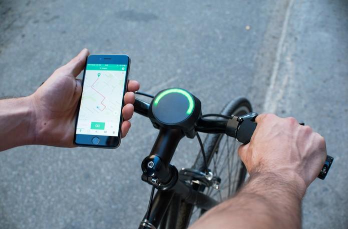 SmartHalo transforma sua bike em smart (Foto: Divulgação/SmartHalo)