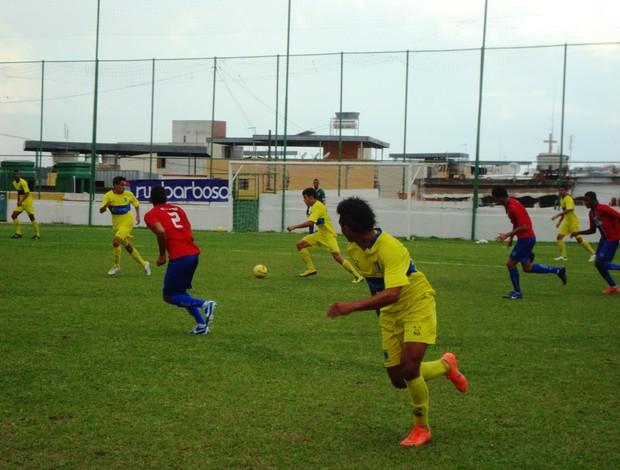 Nacional-MG x Nova Lavras pelo Mineiro de Juniores (Foto: Thiago Carvalho)