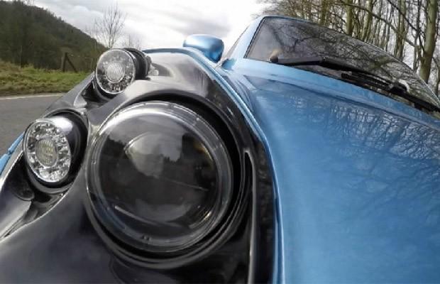 Empresas trabalham para desenvolver a tecnologia do carro movido a hidrogênio (Foto: BBC/Reprodução)