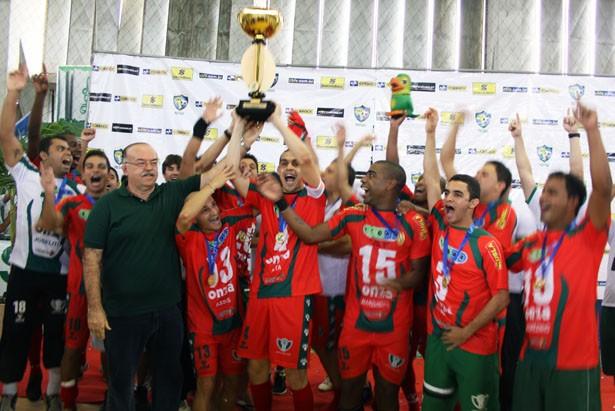 Lagarto é campeão da Liga Nordeste de Futsal (Foto: Divulgação/FSFS)