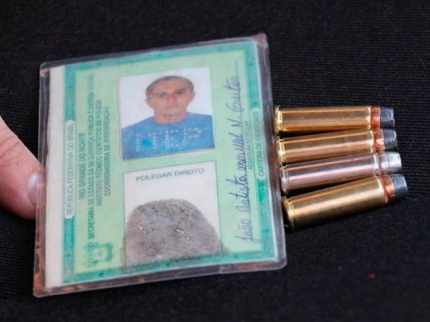 Suspeito foi morto durante troca de tiros com policiais militares em Itajá (Foto: Marcelino Neto/O Câmera)