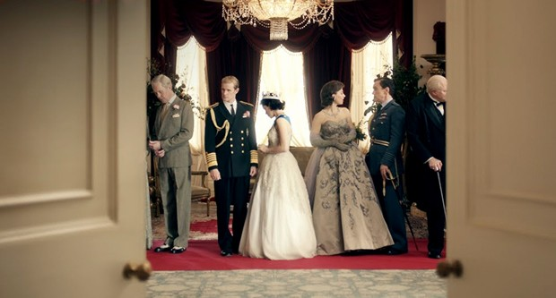 Cena de Thw Crown, nova série da Netflix (Foto: Divulgação)