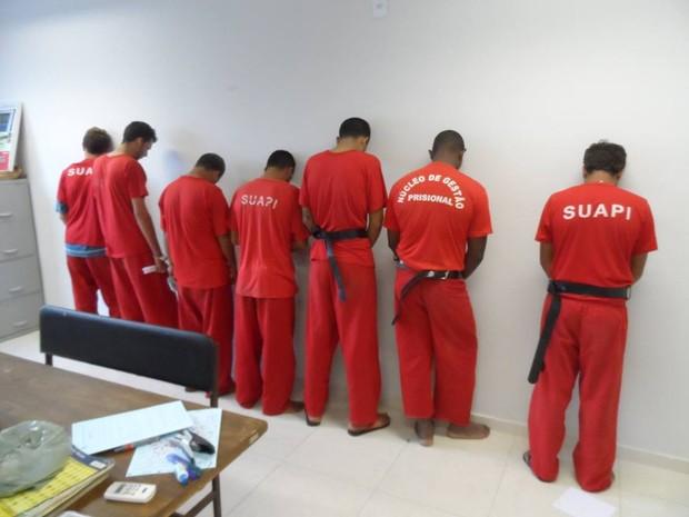 Segundo a Polícia Civil, os suspeitos serão encaminhados para o presídio, em Belo Horizonte. (Foto: Vitor Oliveira/Inter TV)