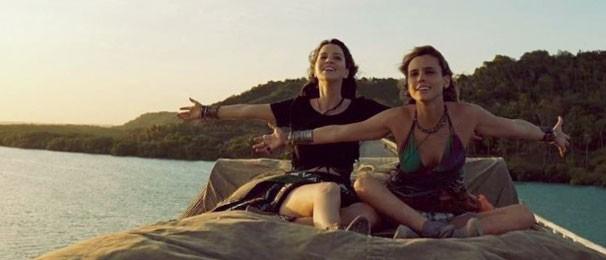 Lívia não conhecia Nathalia Dill e passou a ser amiga da atriz (Foto: Reprodução)