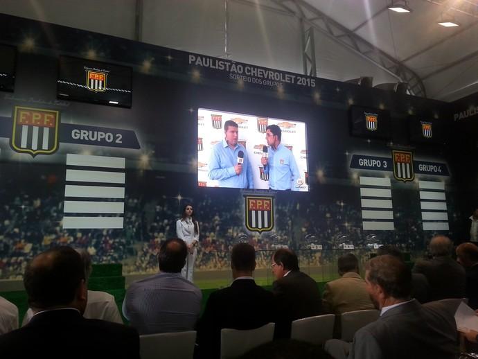 Sorteio Campeonato Paulista (Foto: Diego Ribeiro)