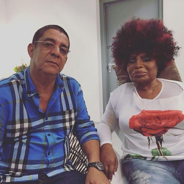 Elza Soares e Zeca Pagodinho (Foto: Reprodução / Instagram)
