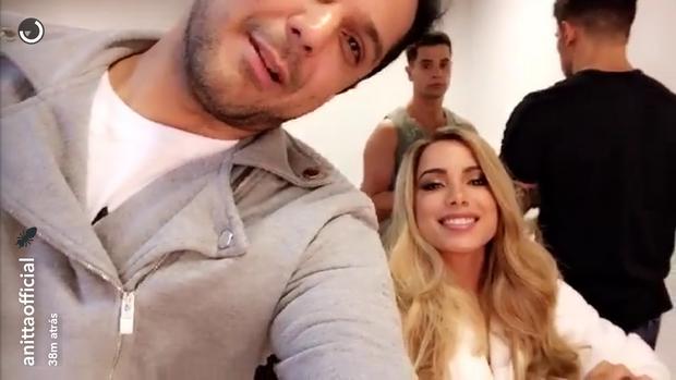 Anitta (Foto: Reprodução/Snapchat)